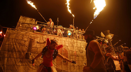 FBI admits to spying on Burning Man