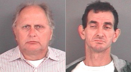 Richard C. Fledderman (L) and Randy Wigle-Stevens © Indiana State Police - Public Information Office