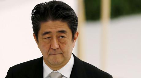 Japan's Prime Minister Shinzo Abe © Toru Hanai