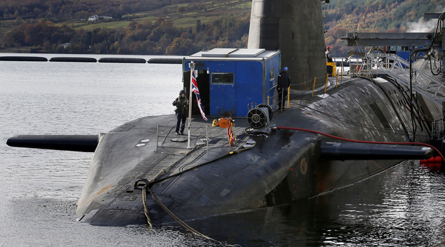 Osborne's £500m Trident nukes pledge 'arrogant in extreme' – Sturgeon