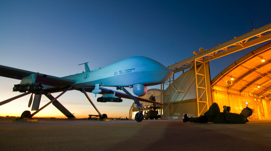 A U.S. Air Force MQ-1 Predator © Effrain Lopez