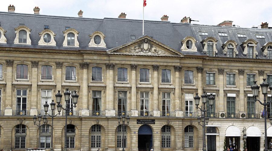 A general view of France's Justice Ministry on the Place Vendome is seen in Paris © Charles Platiau