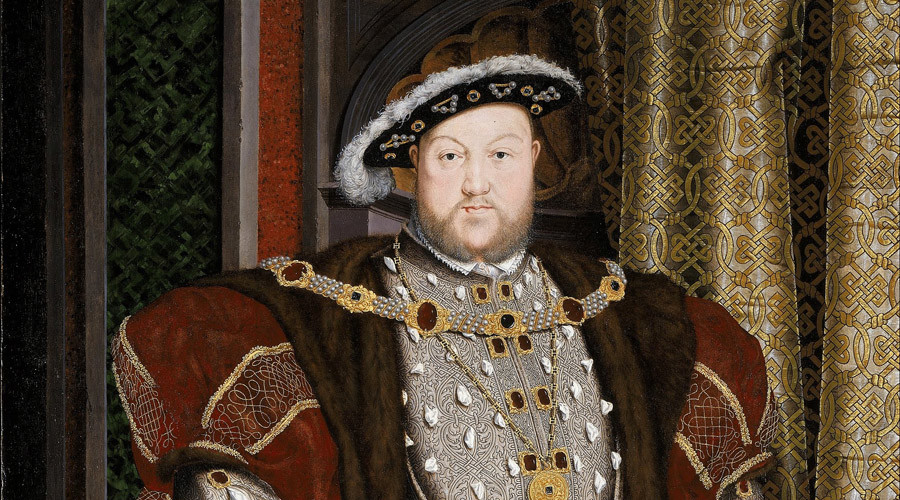 Portrait of Henry VIII by the workshop of Hans Holbein the Younger. © Wikipedia
