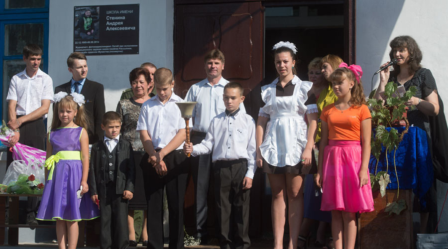 Getting Donbass children ready for school