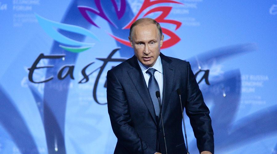 Russian President Vladimir Putin. © Mikhail Voskresenskiy
