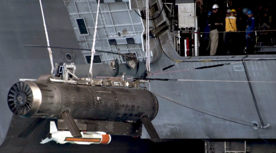 Pentagon wasted over $700 million on ineffective minehunting system