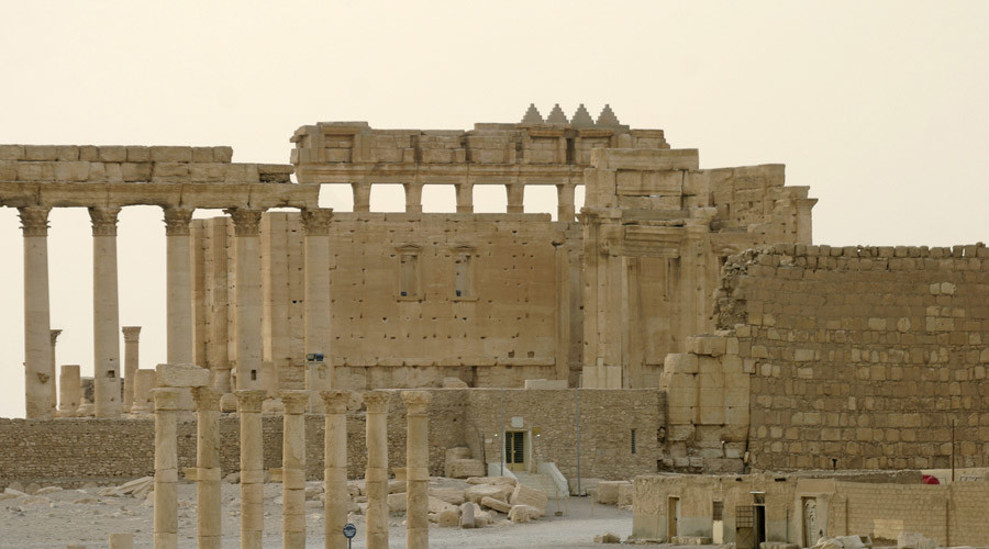 ISIS obliterates ancient tombs in Palmyra