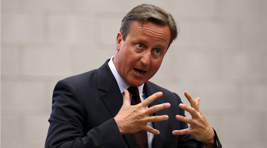 UK to accept up to 20,000 Syrian refugees – PM David Cameron