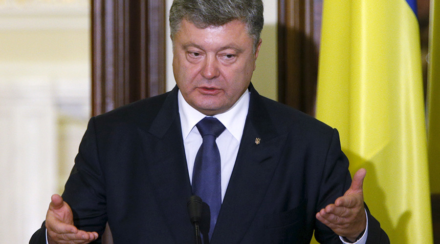 'March on Moscow' among President Poroshenko's options to end Ukrainian crisis