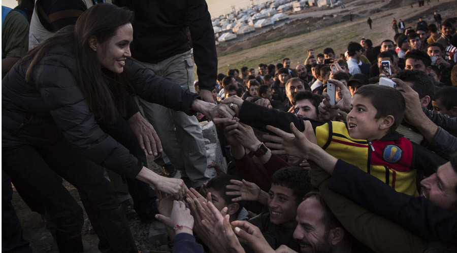 ISIS use rape as 'violent, brutal, terrorizing weapon,' Angelina Jolie tells Lords