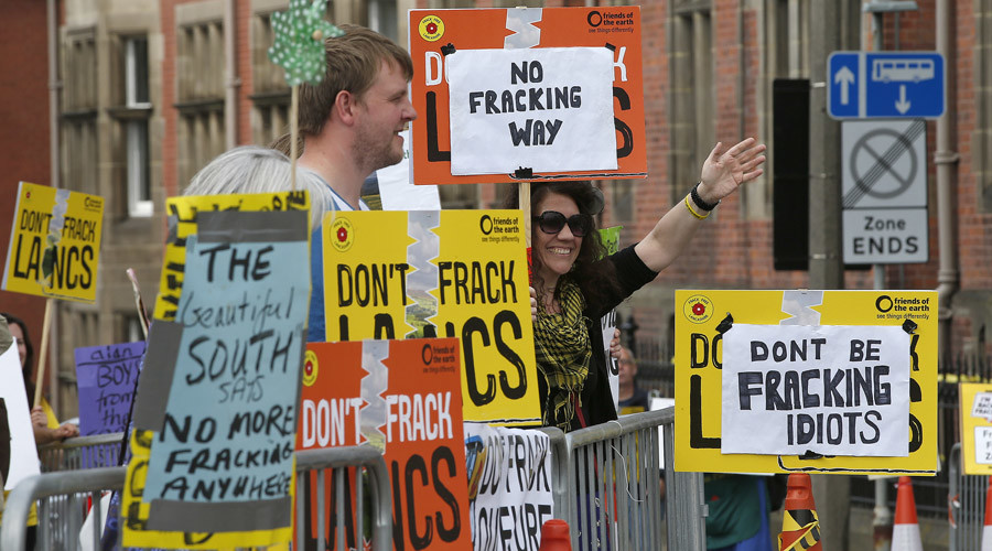 Fracking could lead to 'more earthquakes in Britain' – expert