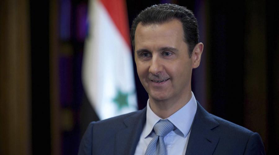 Syria's President Bashar al-Assad © Sana Sana