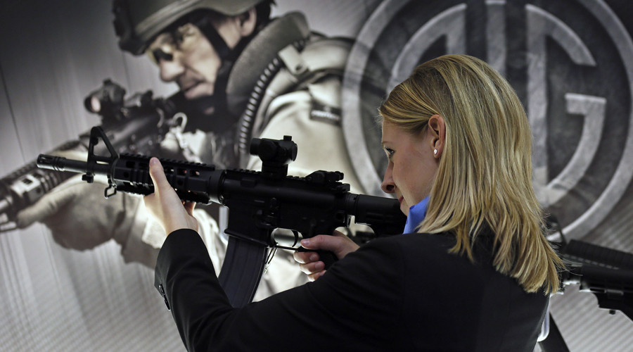 'Must-have' weapons on sale at London Arms Fair