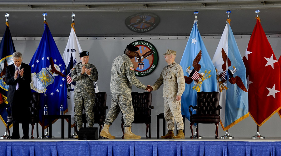 CENTCOM welcomes new commander © US Central Command