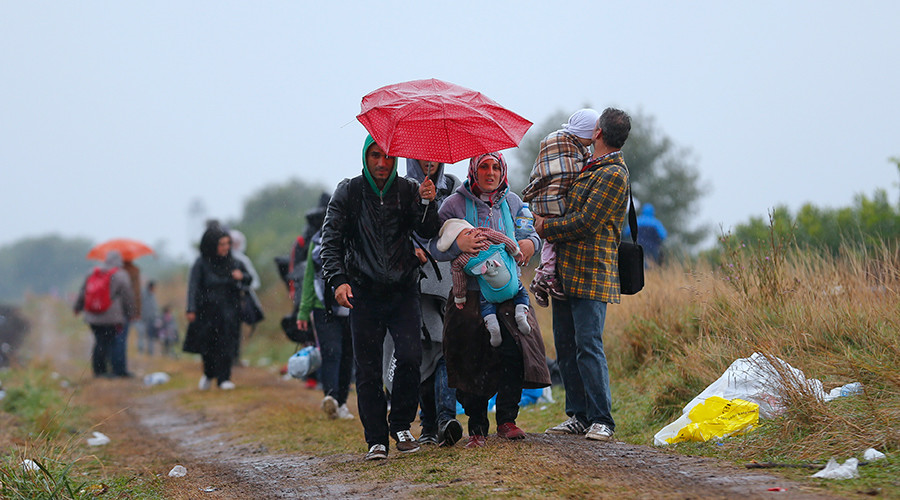 Europe's refugee crisis: Trash trail left behind by asylum seekers upsets locals