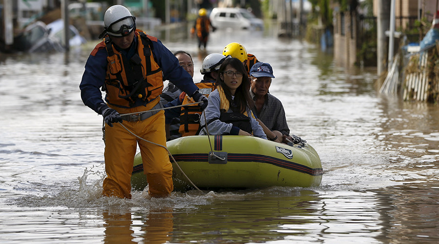 Worst in 50 years: Houses washed away, dramatic rescues as tsunami-like flood swamps Japan