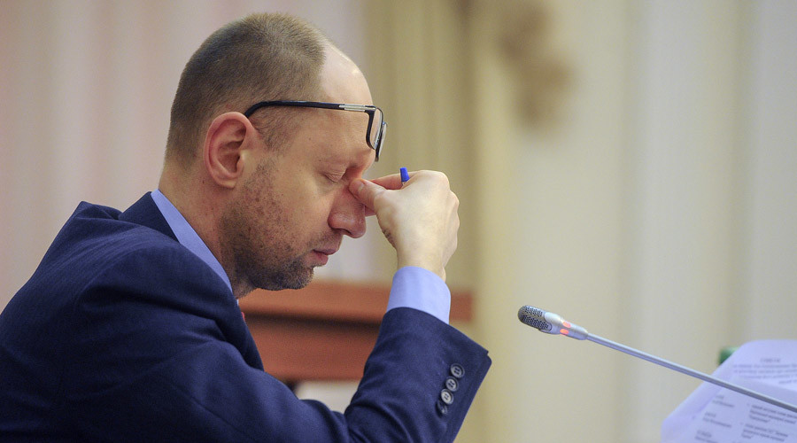 Nord Stream expansion to Europe will leave Ukraine in $2bn hole – PM Yatsenyuk