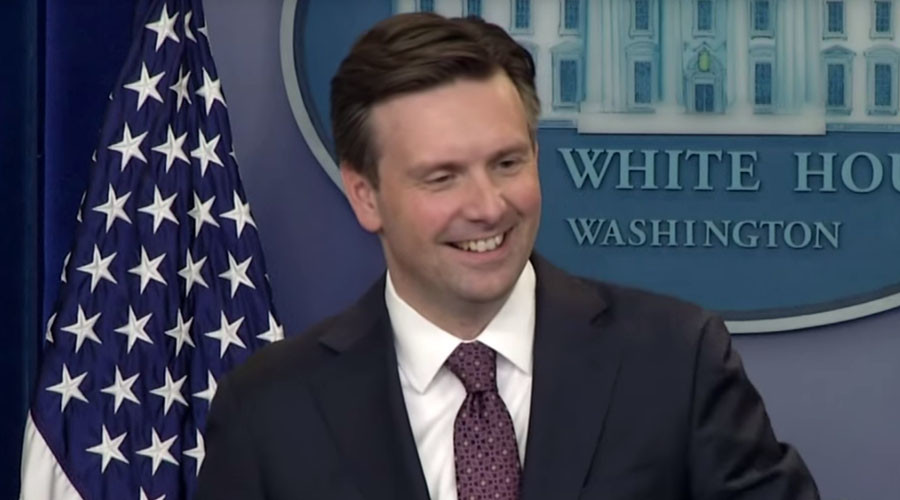 Siri interrupts White House briefing, accidentally answers question on Iran