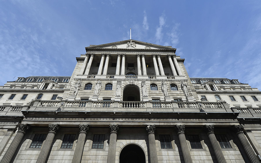 The Bank of England is seen in the City of London  © Toby Melville