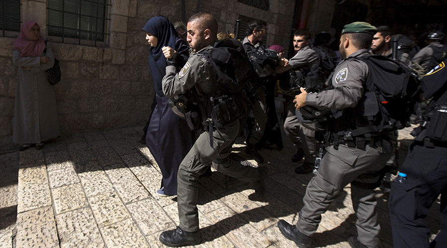 Israeli forces storm courtyard of Al-Aqsa Mosque in Jerusalem