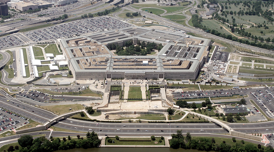 An aerial view of the Pentagon building in Washington © Jason Reed JIR / CN