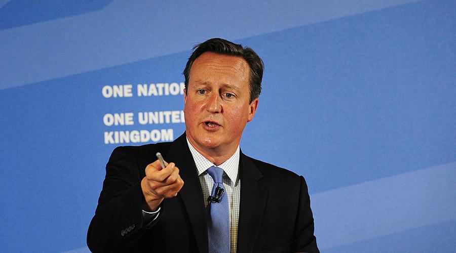Britain's Prime Minister David Cameron © John Giles
