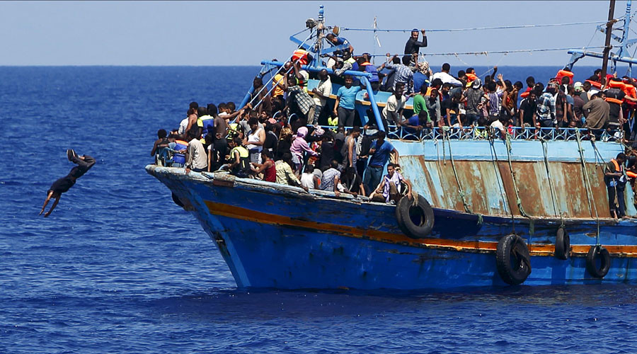 EU approves military action against people smugglers in Mediterranean - reports