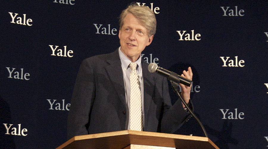 Robert Shiller, one of three American scientists who won the 2013 economics Nobel prize. © Michelle McLoughlin