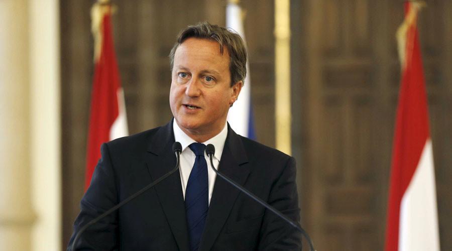 British Prime Minister David Cameron visits Lebanon September 14, 2015. © Mohamed Azakir