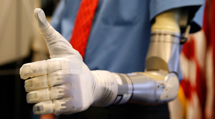 New DARPA prosthetic hand grants 'near-natural' sense of touch