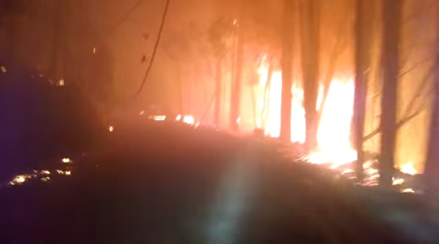 Man risks life during harrowing drive to escape Valley Fire (VIDEOS)