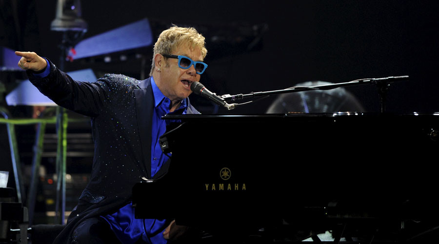 British singer-songwriter Elton John. © Eloy Alonso