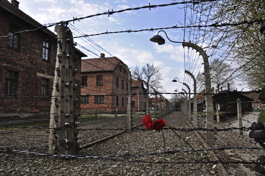 Former Nazi death camp of Auschwitz in Oswiecim. © Lukasz Krajewski / Agencja Gazeta