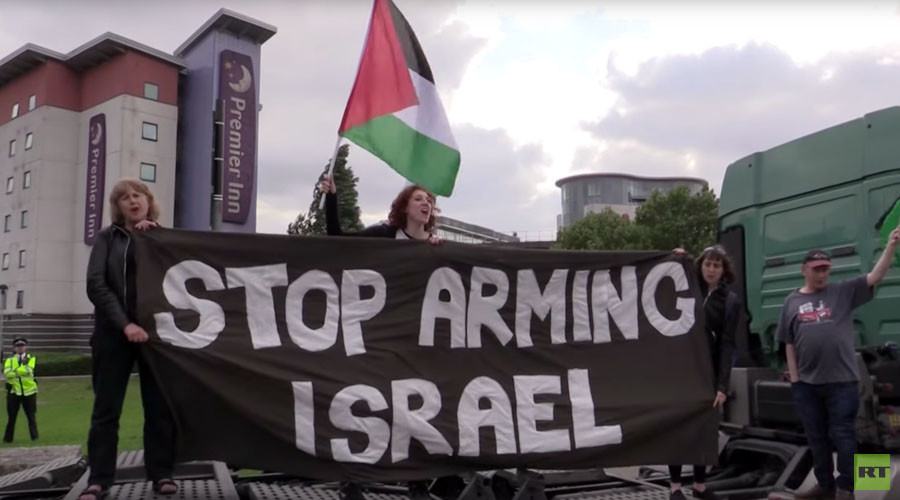 Protesters up in arms over DSEI weapons fair (VIDEO)