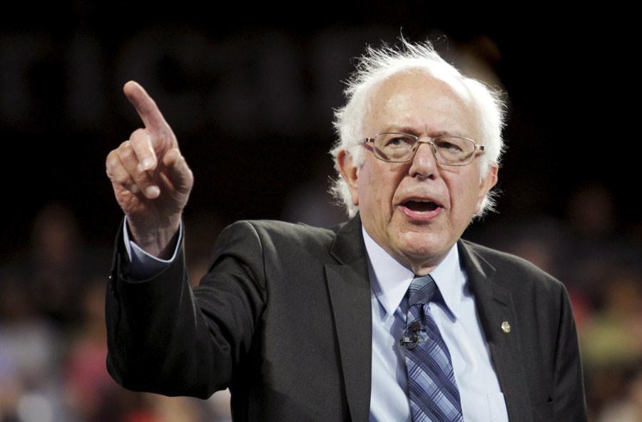 U.S. Democratic presidential candidate Sen. Bernie Sanders (I-VT). © Jay Paul