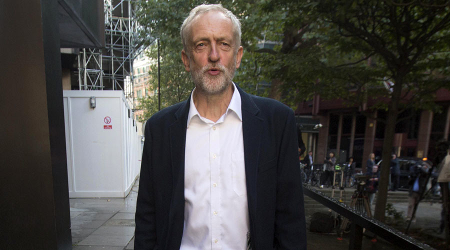 Anti-war Jeremy Corbyn attacked for defending white peace poppy