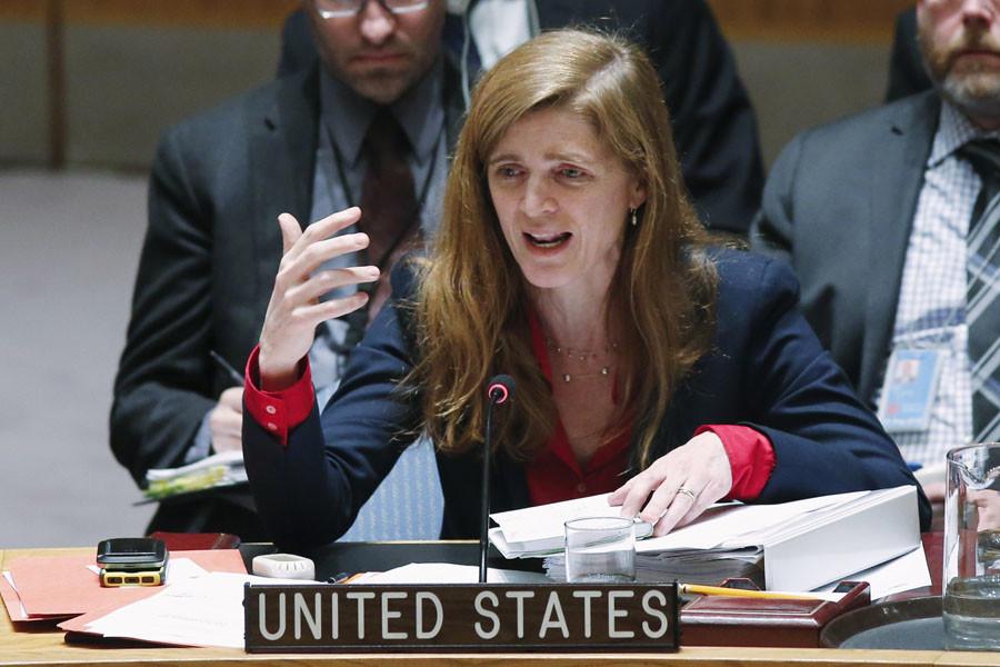 United States Ambassador to the United Nations Samantha Power. © Eduardo Munoz