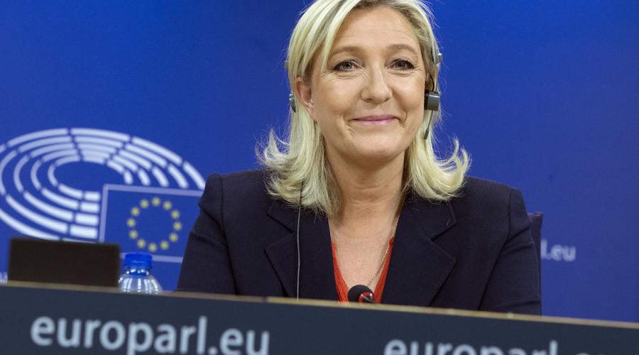 Marine Le Pen © Yves Herman