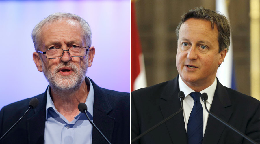 Corbyn unleashes 'new style' PMQs on Cameron