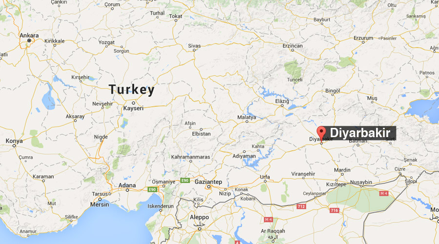 Blast rocks ammunition depot in southeastern Turkey