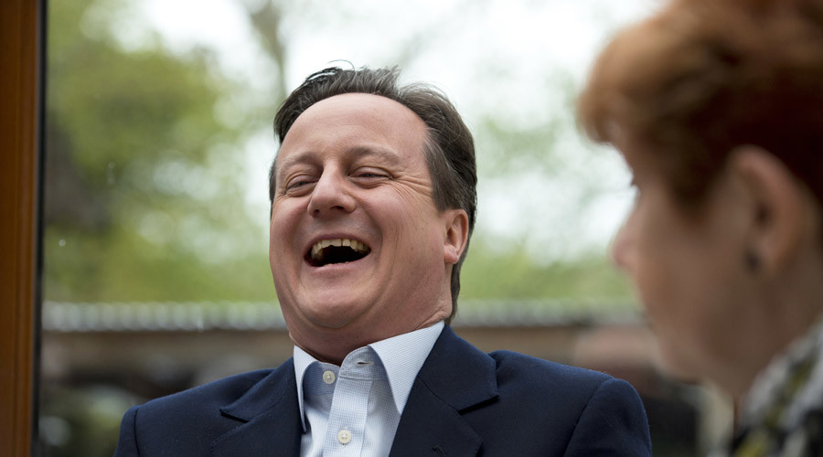 Britain's Prime Minister David Cameron © Oli Scarff