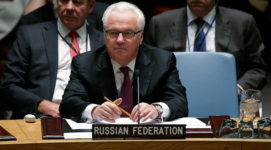 Russia's Ambassador to the United Nations Vitaly Churkin © Brendan McDermid