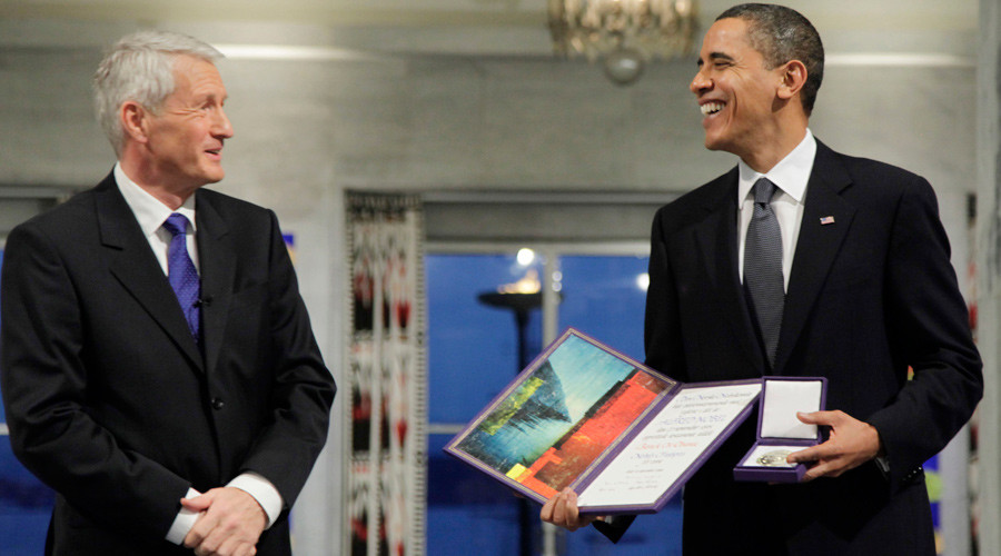 Ex-Nobel committee exec regrets Obama Peace Prize