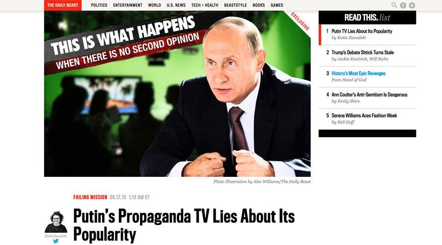 Exposing Daily Beast propaganda: 10 RT political virals the YouTube MSM can only dream of