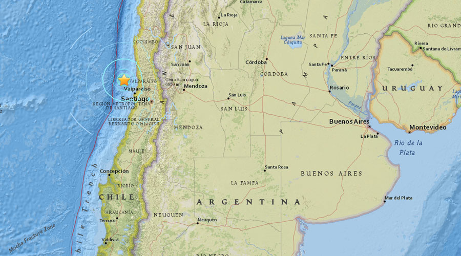 New Chile quake: 6.3 magnitude tremor hits off Valparaiso
