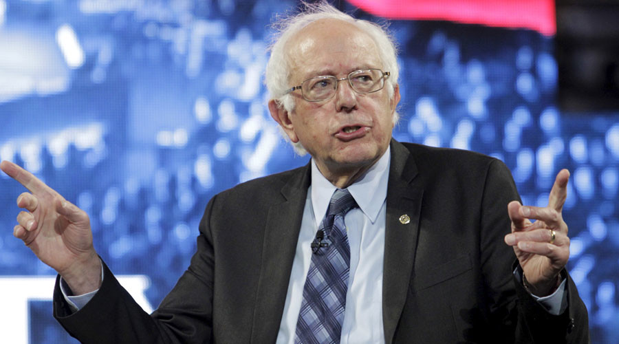 U.S. Democratic presidential candidate Sen. Bernie Sanders (I-VT) © Reuters