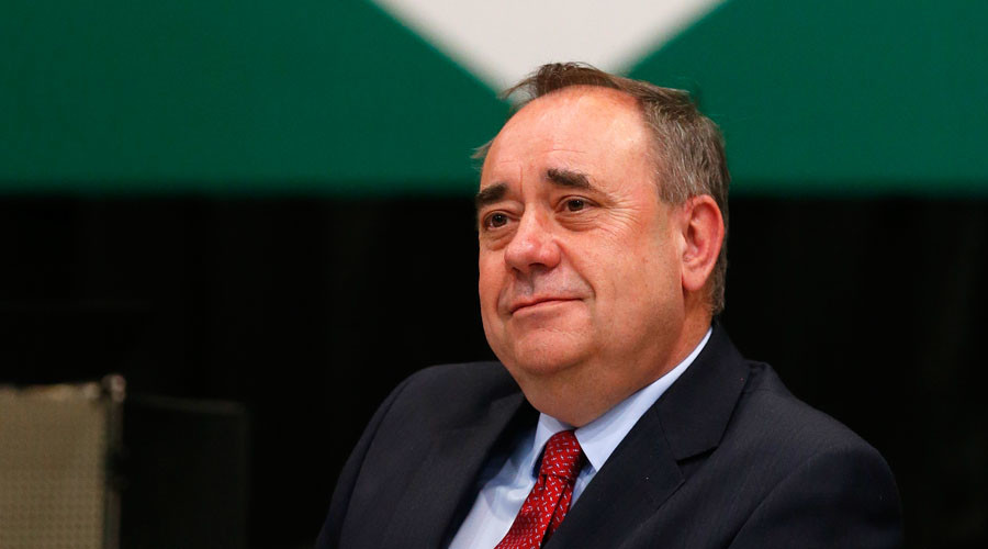 Alex Salmond, the former Scottish National Party. © Cathal McNaughton