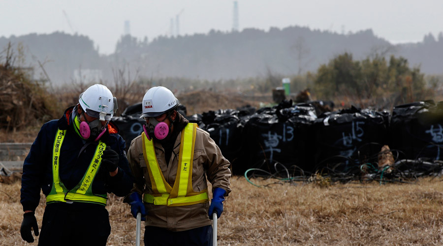 Over 700 Fukushima waste bags swept away by torrential floods
