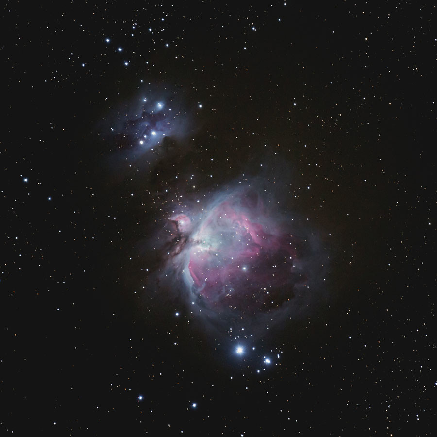 Orion DT © David Tolliday / INSIGHT ASTRONOMY PHOTOGRAPHER OF THE YEAR AT THE ROYAL OBSERVATORY GREENWICH
