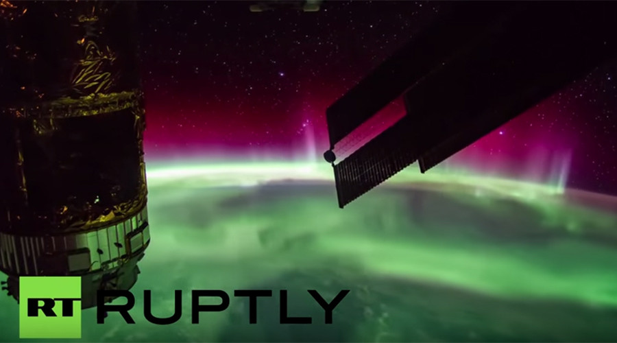 Mind-blowing view from best spot: Northern lights captured by International Space Station (VIDEO)